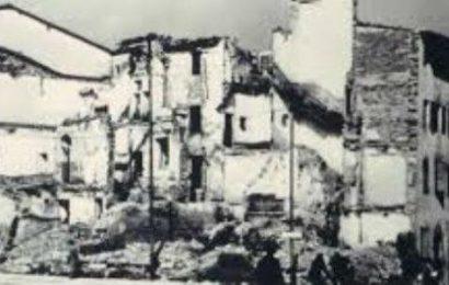 IL RICORDO DELLE 140 VITTIME CIVILI DEL PRIMO BOMBARDAMENTO AEREO SU PISTOIA