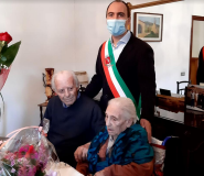 montemurlo. GIUSEPPE E MARIA FESTEGGIANO 73 ANNI DI MATRIMONIO