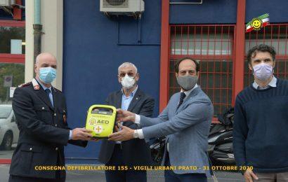UN DEFIBRILLATORE AUTOMATICO DONATO AL COMANDO DELLA POLIZIA MUNICIPALE