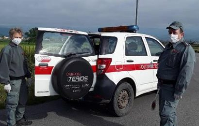 emergenza covid. LA POLIZIA PROVINCIALE RIPRENDE I SERVIZI DI PREVENZIONE