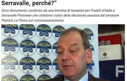 """kamasutra. SEMPRE A PROPOSITO DI FRATELLI D'ITALIA-SERRAVALLE, DEL SEN. LA PIETRA E DI ELENA BARDELLI LA """"SCOMUNICATA"""""""