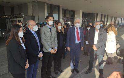 IL PRESIDENTE GIANI E L'ASSESSORE BEZZINI IN VISITA AL SANTO STEFANO