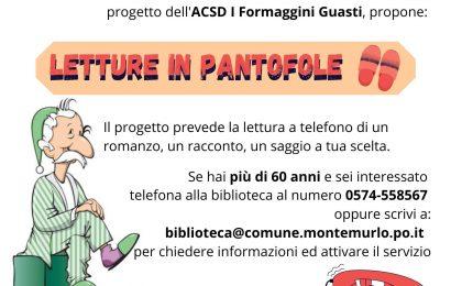 """letture in pantofole. """"BIBLIOTERAPIA"""" PER ANZIANI. LETTURE AL TELEFONO PER COMBATTERE LA SOLITUDINE"""