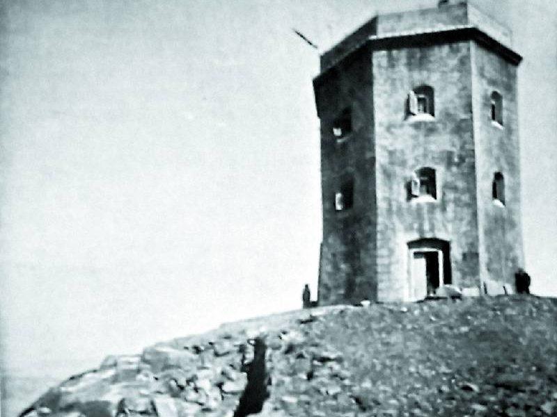 montagna da scoprire. IL RIFUGIO TORRE-OSSERVATORIO SUL MONTE CIMONE DEL 1891