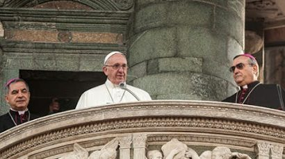 l'esortazione di papa francesco. « CONTINUATE A STABILIRE PATTI DI PROSSIMITÀ!»