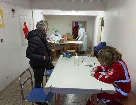 EFFETTUATI I TEST SIEROLOGICI A SERRAVALLE PAESE E CASTELLINA