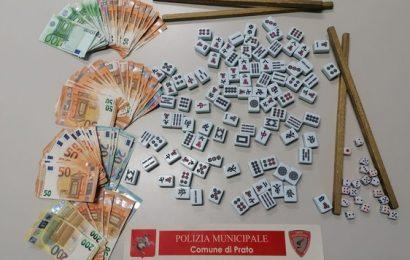 BISCA CLANDESTINA, DENUNCIATE VENTI PERSONE E SEQUESTRATI 6.100 EURO IN CONTANTI
