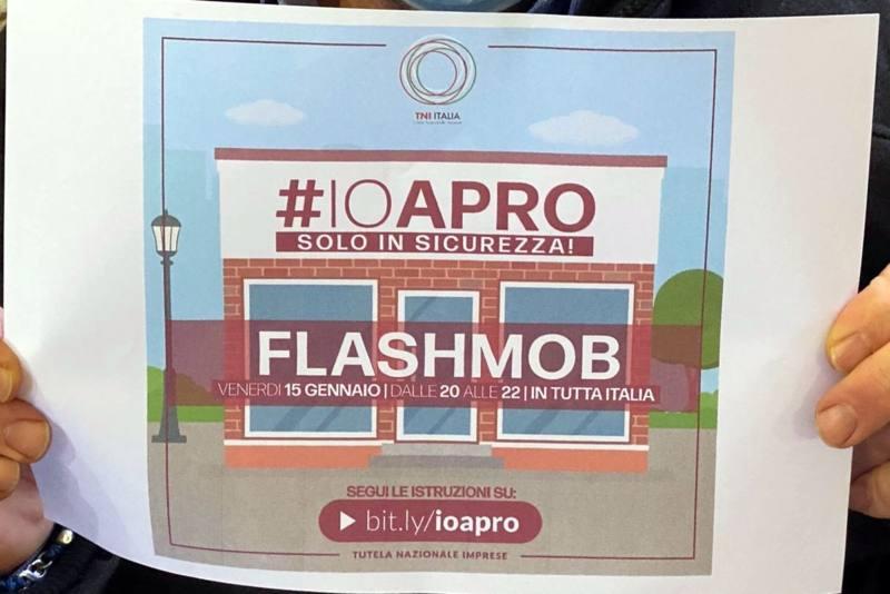 OLTRE OTTOMILA ADESIONI AL FLASH MOB #IOAPROSOLOINSICUREZZA