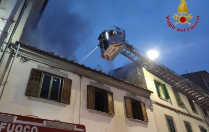 INCENDIO IN VIA BOLOGNA, DUE INTOSSICATI
