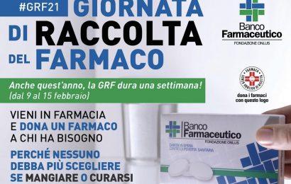 PARTE DA OGGI FINO AL 15 FEBBRAIO LA RACCOLTA DI FARMACI PER I BISOGNOSI