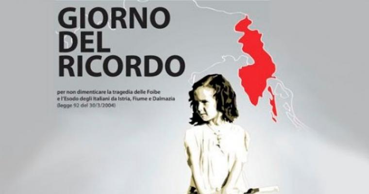 GIORNO DEL RICORDO: LE INIZIATIVE A PISTOIA