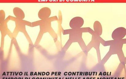 """lamporecchio. IL COMUNE ACCOGLIE IL BANDO REGIONALE """"EMPORI DI COMUNITÀ'"""""""