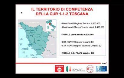 IL NUMERO UNICO DI EMERGENZA 112 ATTIVO ANCHE IN PROVINCIA DI PISTOIA