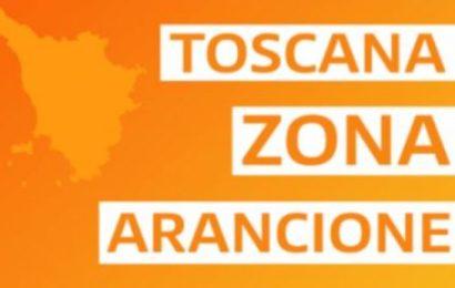 LA TOSCANA RIMANE IN ZONA ARANCIONE ANCHE LA PROSSIMA SETTIMANA
