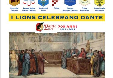 I LIONS CELEBRANO DANTE ALIGHIERI