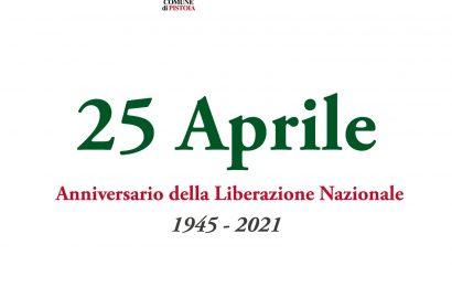 festa della liberazione. DOMENICA IL 76° ANNIVERSARIO