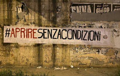 casapound. AL VIA LA CAMPAGNA #APRIRESENZACONDIZIONI