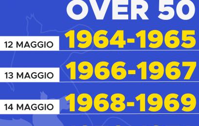 VACCINI PER I NATI NEL 1964 E 1965, AGENDE APERTE DA QUESTO POMERIGGIO
