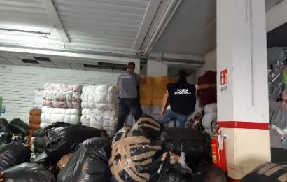 smaltimento illegale rifiuti tessili. IL SINDACO BIFFONI: UNA OPERAZIONE FRUTTO DEL GRANDE LAVORO DI LOTTA ALLA ILLEGALIT ANCHE DELLA POLIZIA MUNICIPALE