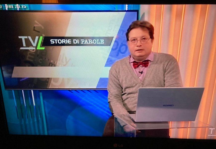 """CONCLUSA SU TVL LA TRASMISSIONE """"STORIE DI PAROLE"""""""