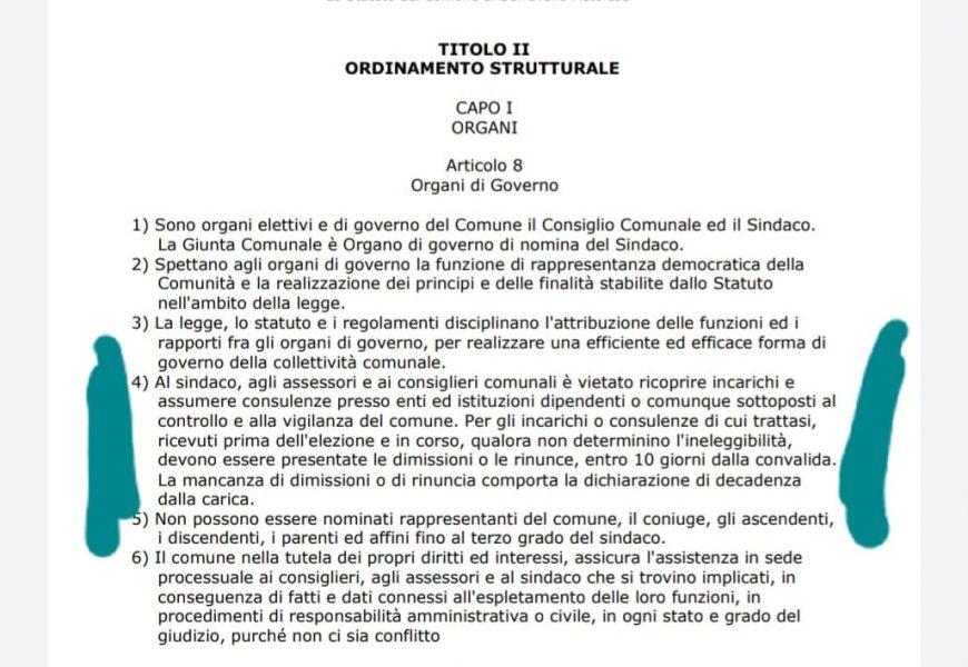 serravalle. CASO INCOMPATIBILITÀ: COME INTENDE PROCEDERE FRATELLI D'ITALIA?