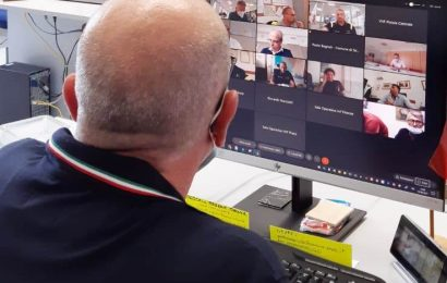 LAVORI ALL'AUTOSTRADA DELL'ACQUA, APERTO IL CENTRO OPERATIVO DELLA PROTEZIONE CIVILE