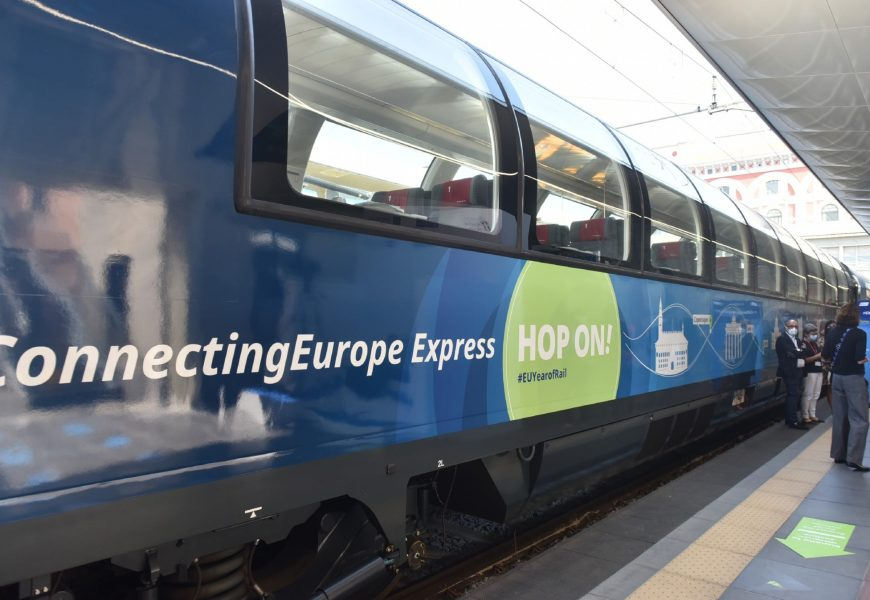 HA FATTO TAPPA A VAIANO IL CONNECTING EUROPE EXPRESS