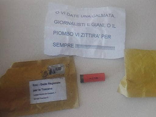 """MINACCE A GIORNALISTI RAI E GIANI, LA SOLIDARIETÀ DI ANGELINI (CGIL TOSCANA): """"SI STA PASSANDO IL LIMITE"""""""